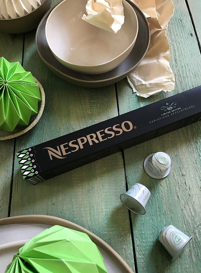 Nespresso Variations 2016: Apfelstrudel