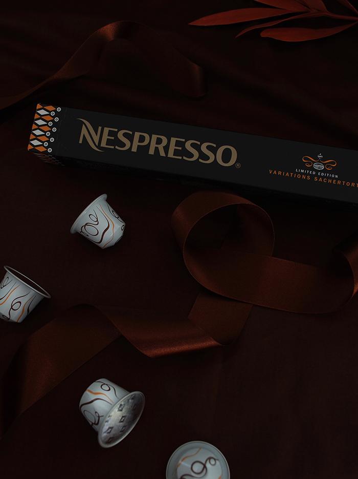 Nespresso Variations 2016: Sachertorte
