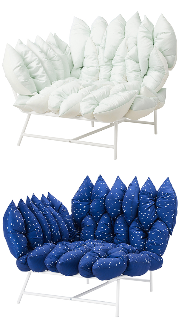 Joel & Kate Booy of studio Truly Truly - sofa design for IKEA PS 2017 range