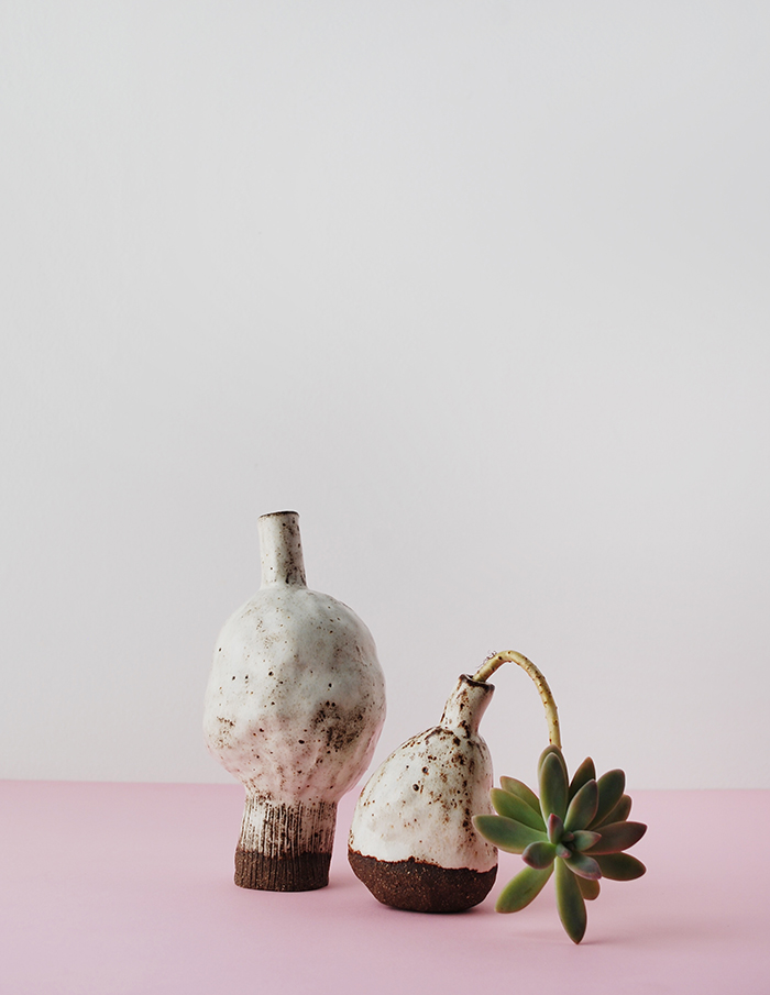 stunning handmade ceramics, beautifully styled