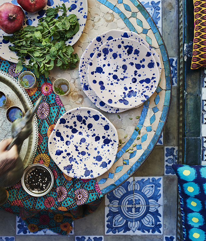 Brilliant pattern and colour in IKEA's JASSA - a new handmade range