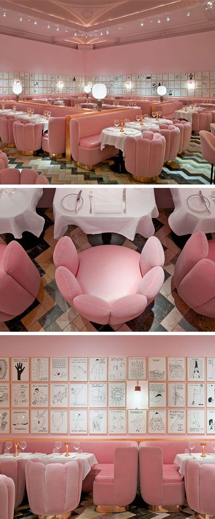 India Mahdavi Sketch London