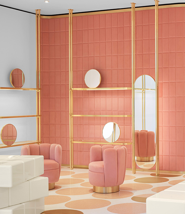 India Mahdavi - REDValentinto London