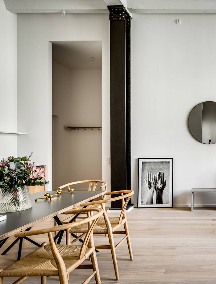 Stockholm apartment - simply beautiful