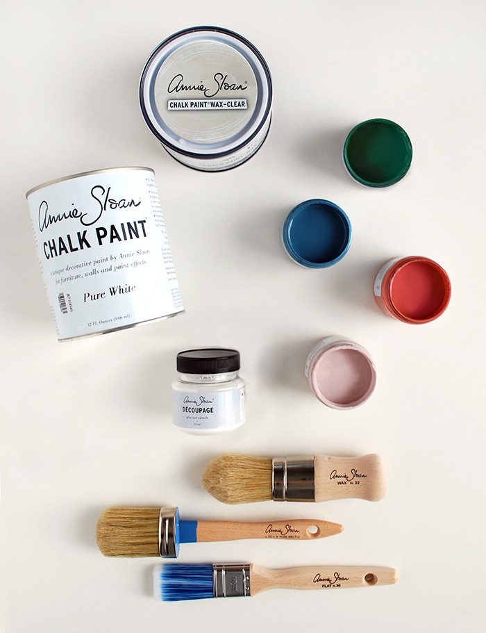 Annie Sloan products for IKEA hack