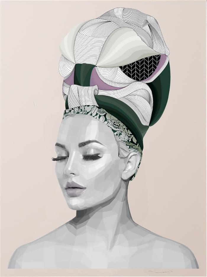 Print by Brent Rosenberg