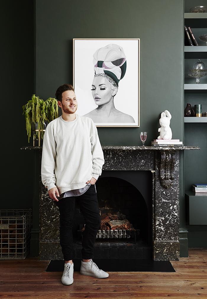 Melbourne based artist Brent Rosenberg
