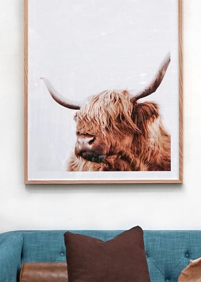modern rustic lounge room - Matt Blatt