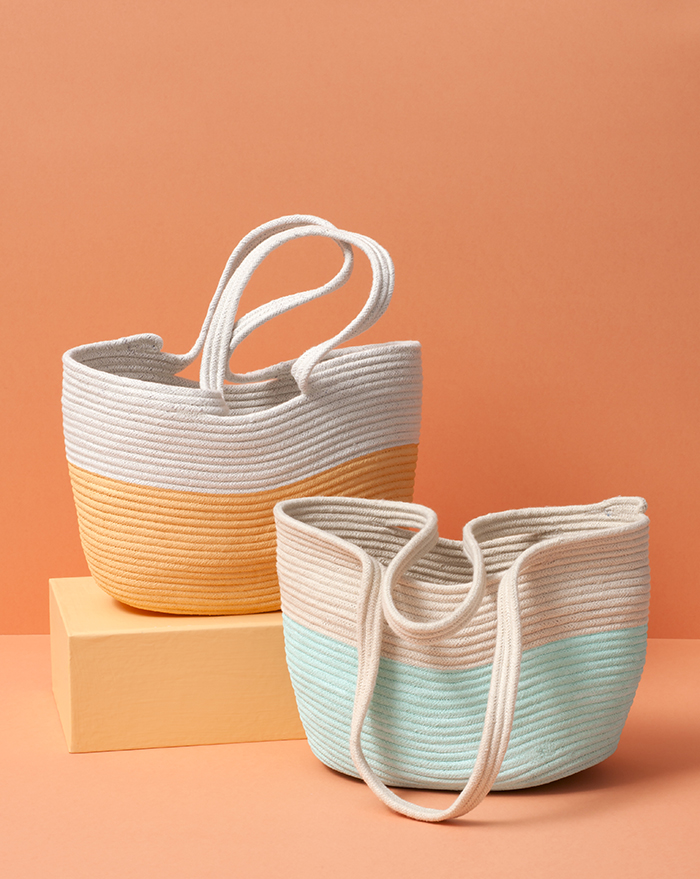 How to make a rope tote