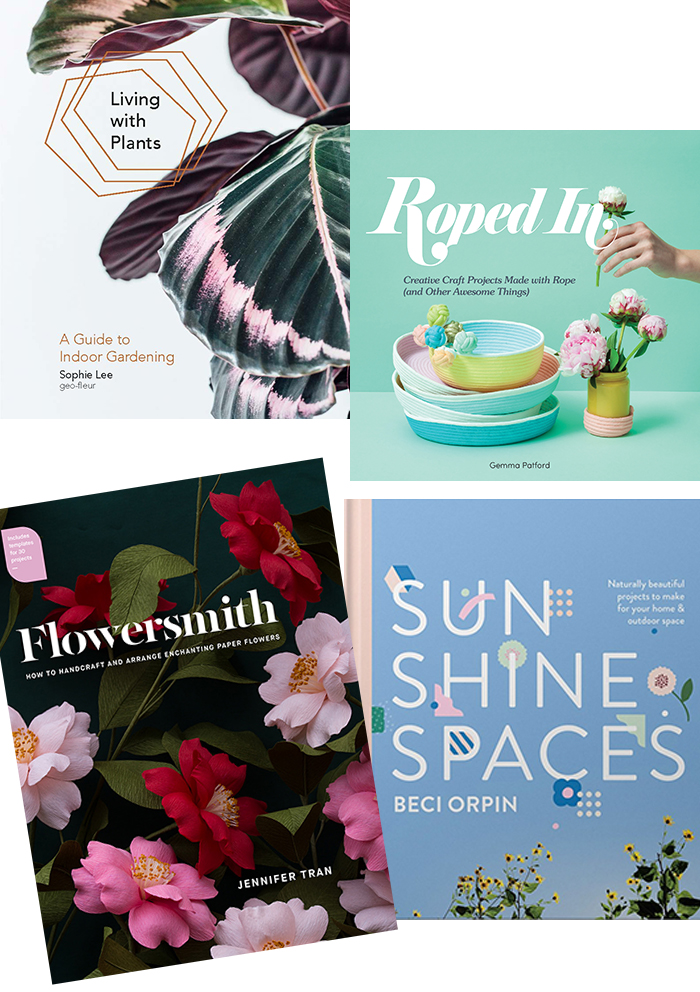 Australian new release craft + home books