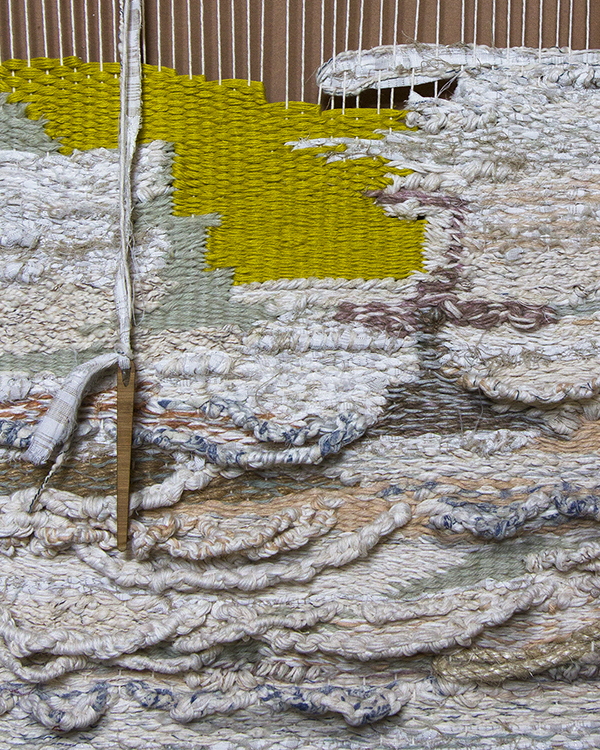 Beautiful textural weavings by Crossing Threads
