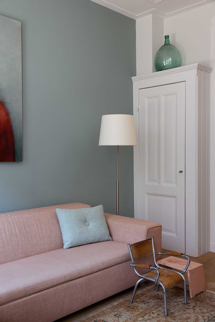 Interiors trends - soft muted wall colours