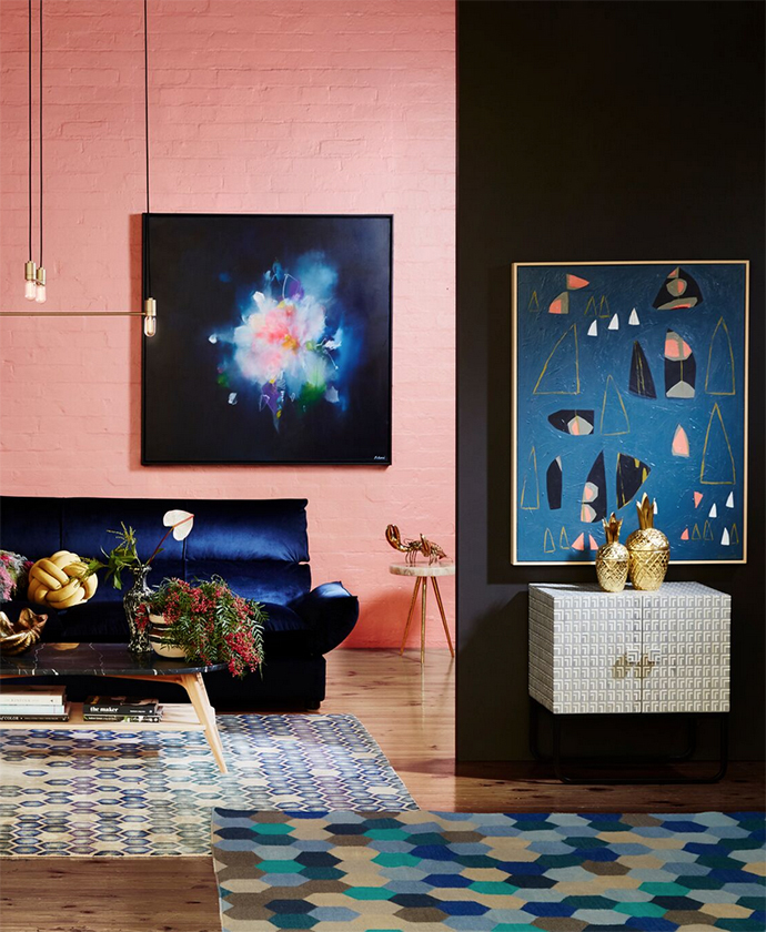 Fresh ways to display your Australian art at home. Dress your walls, your floors and little nooks