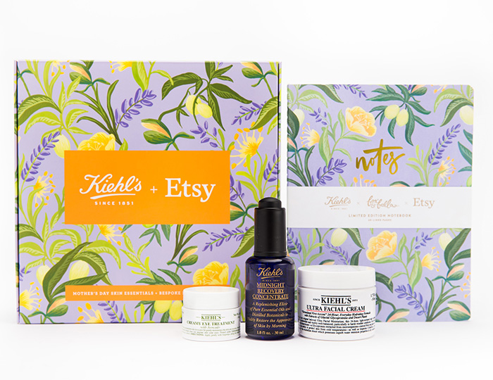 Kiehl's and Etsy Mother's Day collaboration