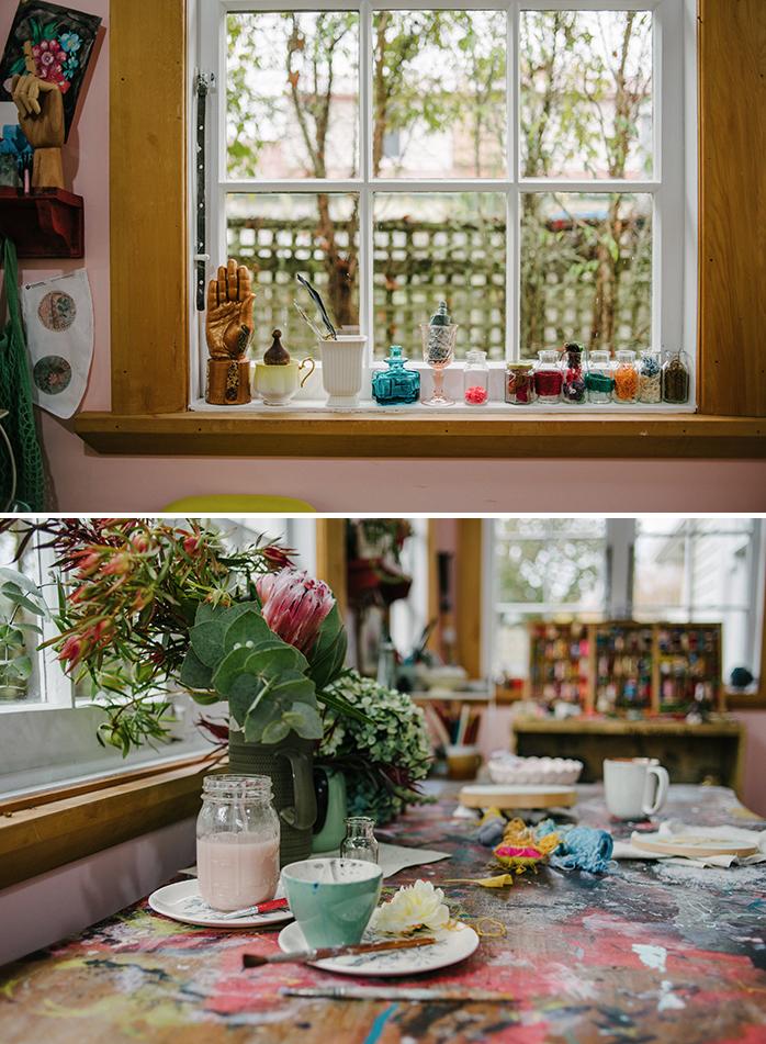 Fleur Woods' studio tour