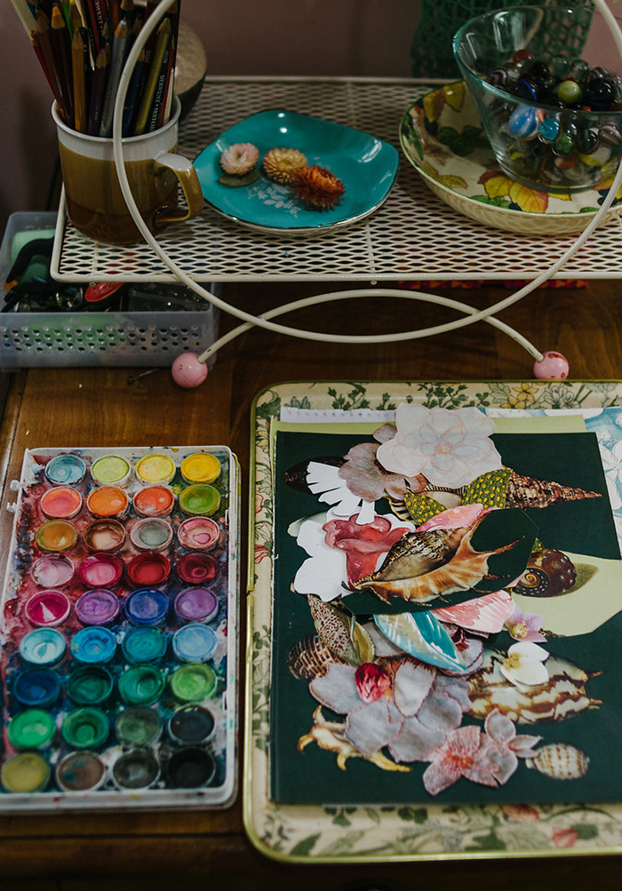 Studio tour with NZ textile artist Fleur Wood