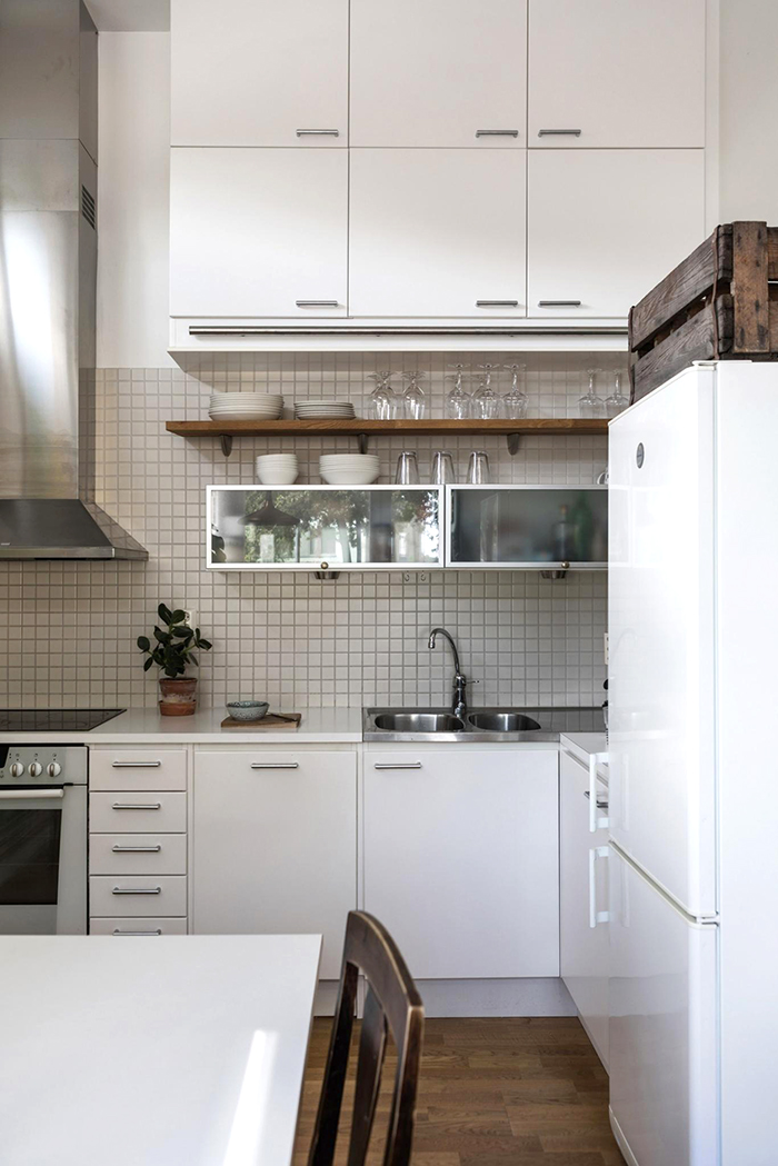 Swedish studio making the most of storage space