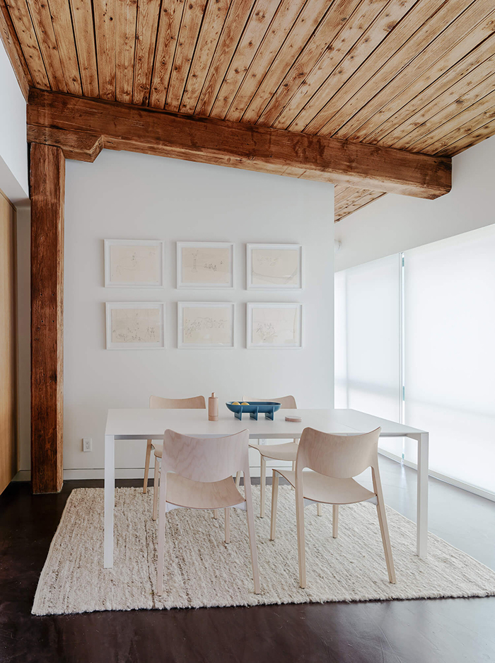 Wood interiors: ceiling to die for!