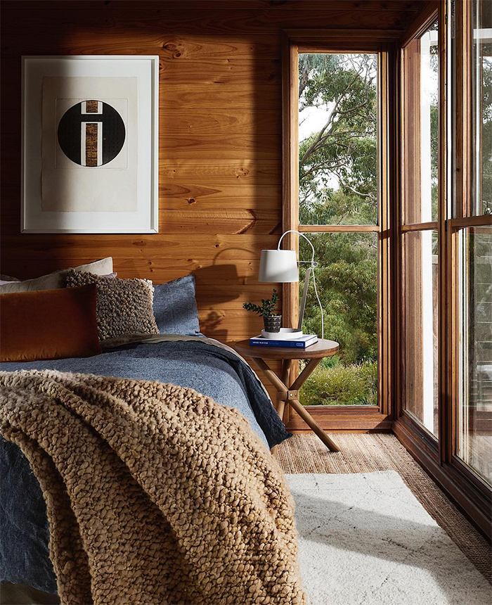 bedroom goals - wood interiors