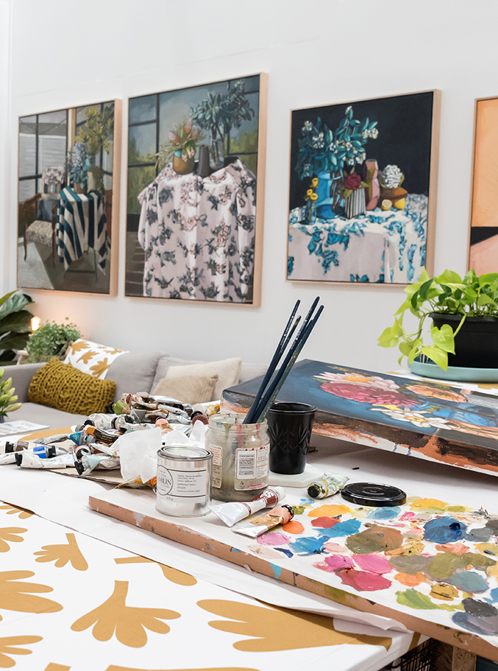 Studio visit with Australian artist Sam Michelle