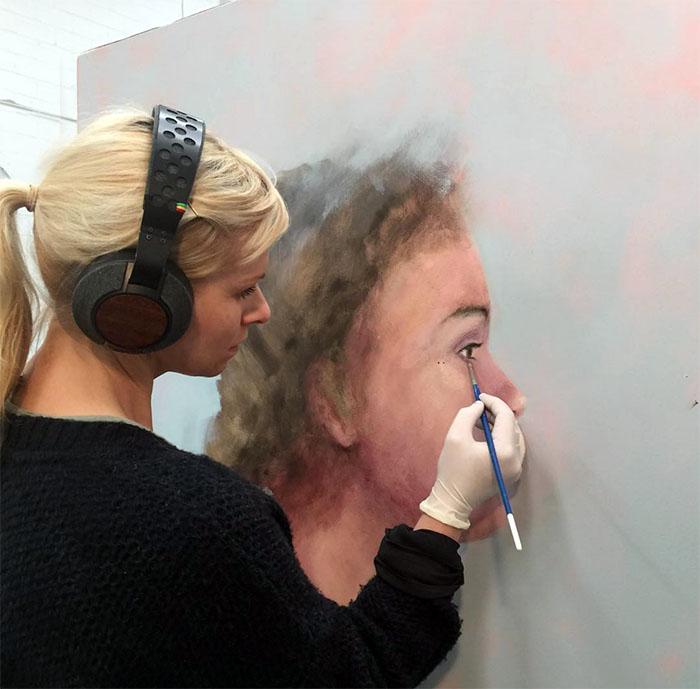 Susie Dureau in her Sydney Studio