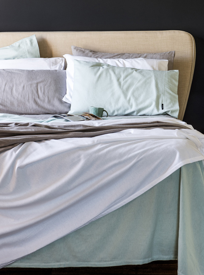 layer your bed for winter with flanelette sheets