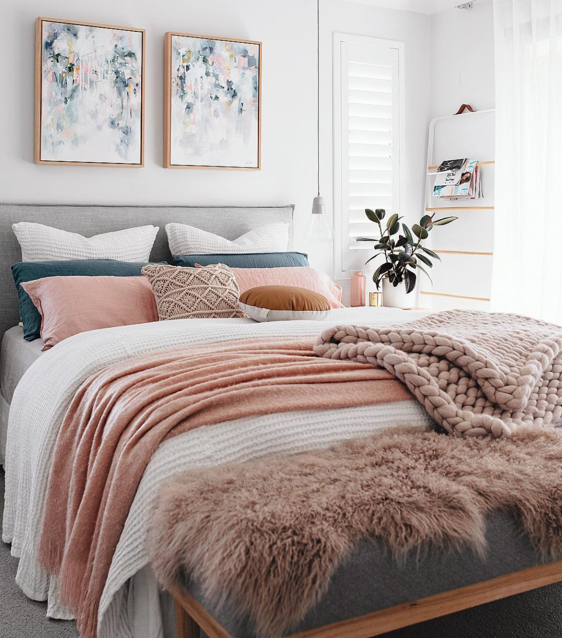 Bedroom Ideas Pinterest: Top Tips: The Best Way To Layer Your Bed For Winter