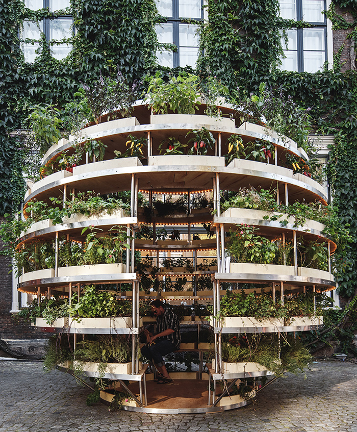 IKEA Growroom - amazing vertical garden room