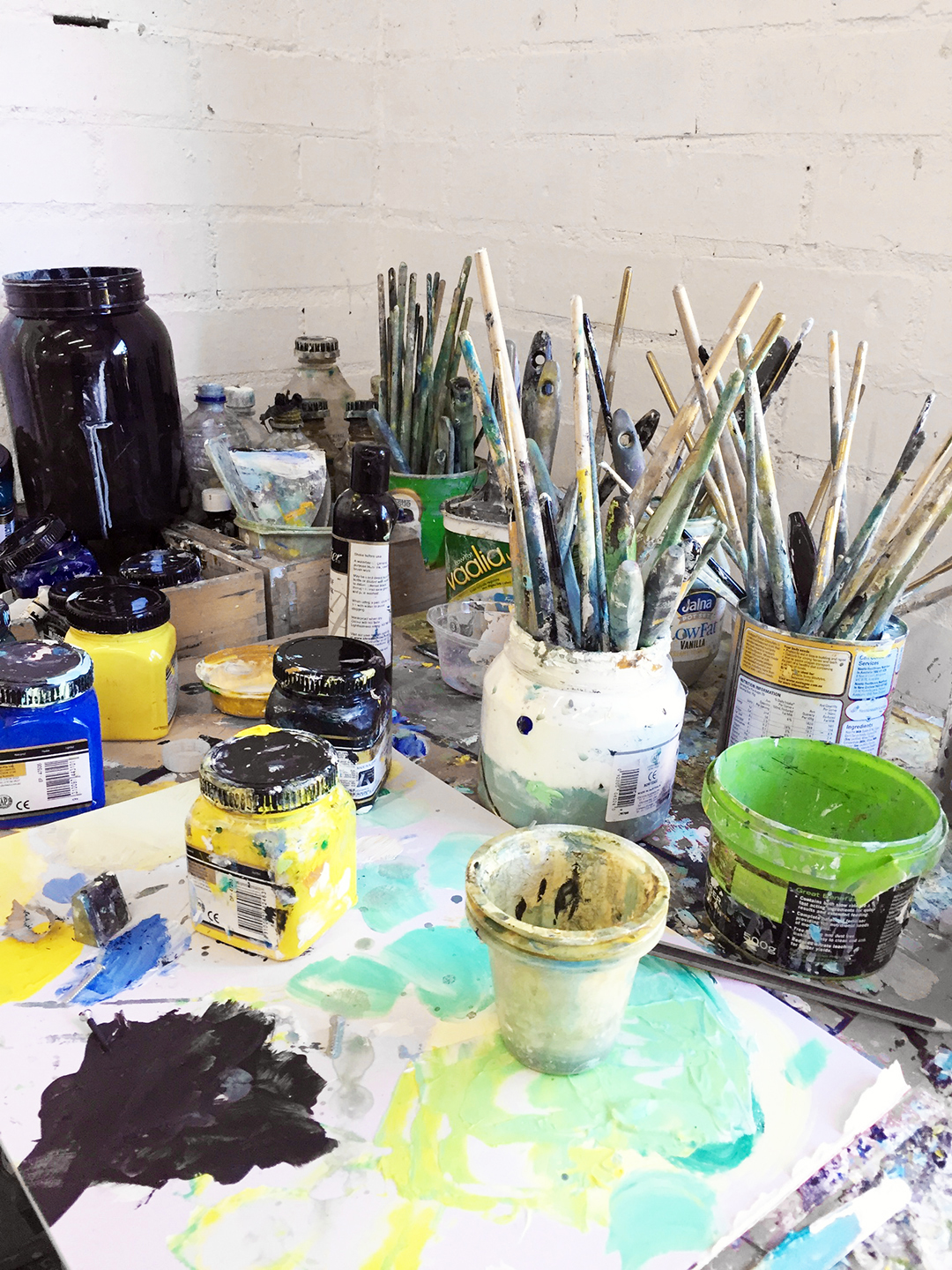 Studio visit with artist Amanda Tye