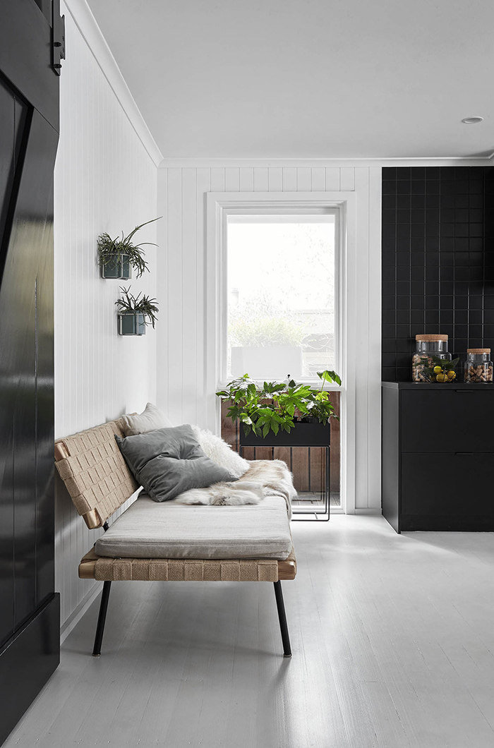 Stunning interior of a Scandi style holiday home