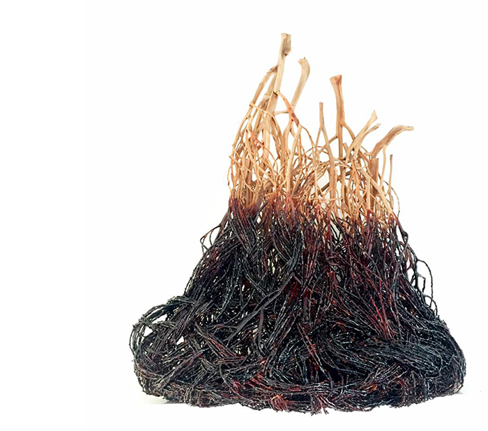 Catriona Pollard contemporary basketry