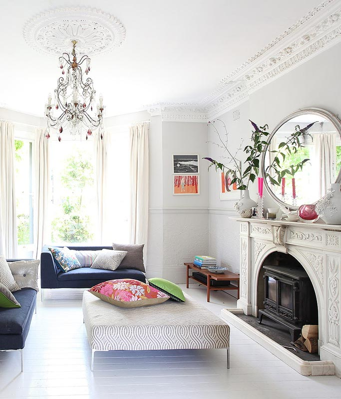 An eclectic London home