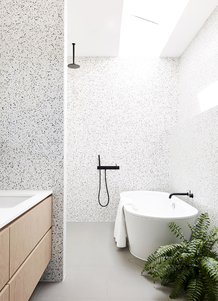 Trend scout the pinterest 100 top 10 interiors trends for Modern bathroom tile trends