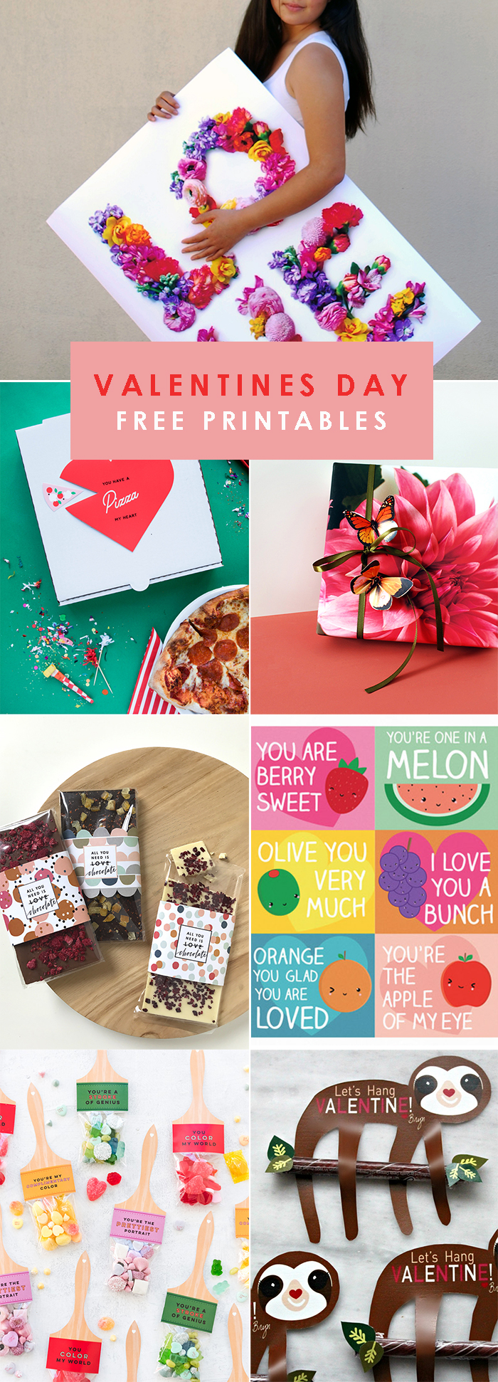 The best Valentines Day free printables