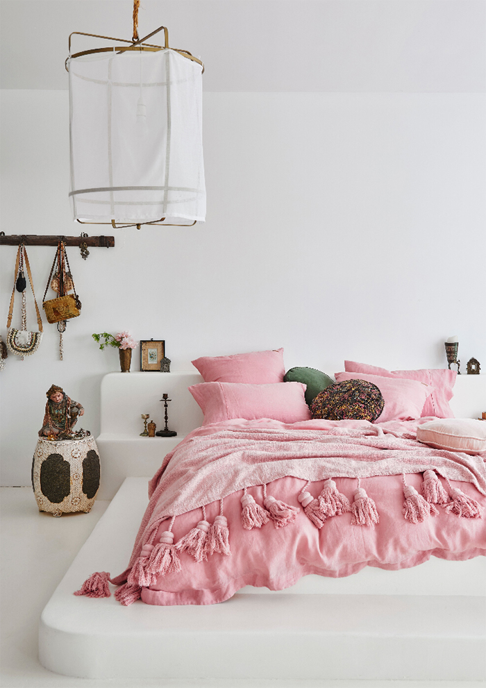 Ahhh blush! Bedding by Kip&Co - First Light collection