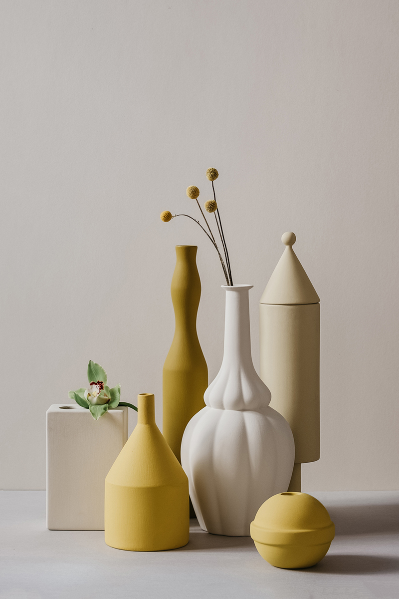 Stunning vessels by Le Morandine