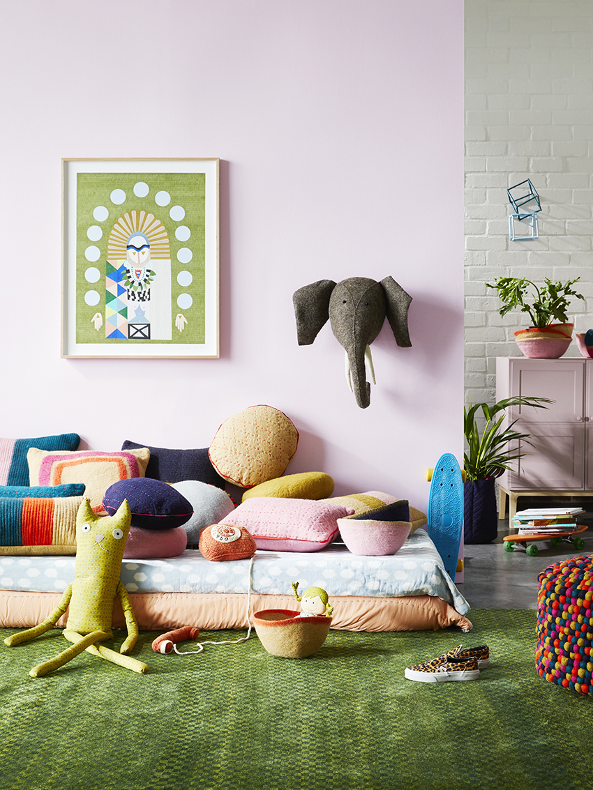 Oon felt homewares ethically made in Nepal