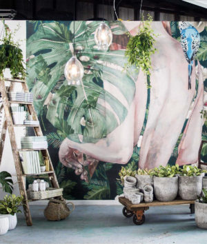 The wallpaper art murals collection by Jessica Watts
