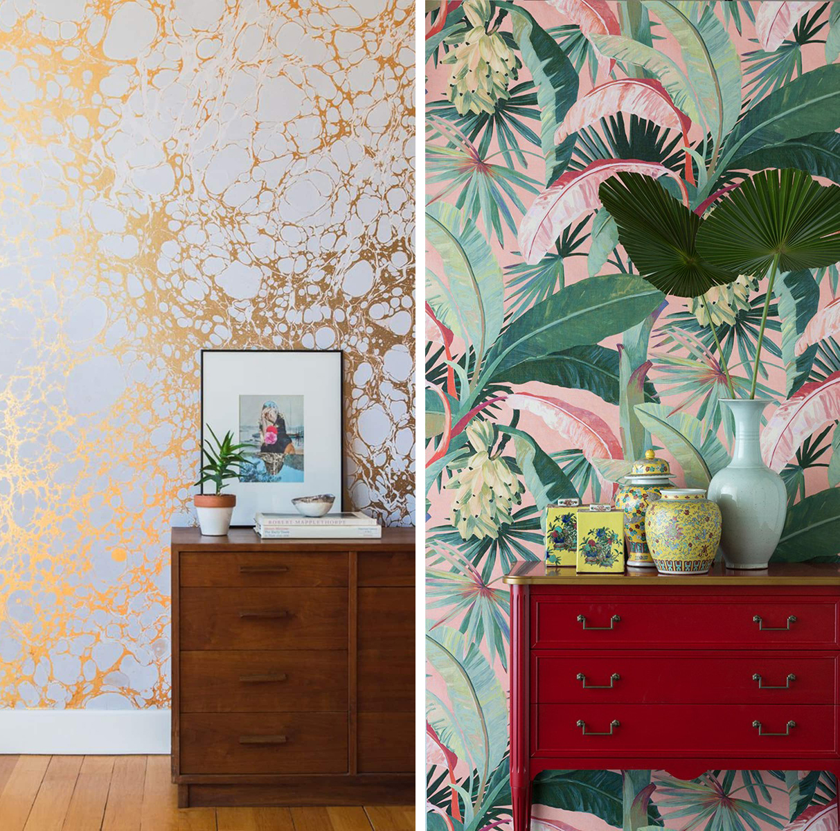 Trend: bold wallpaper