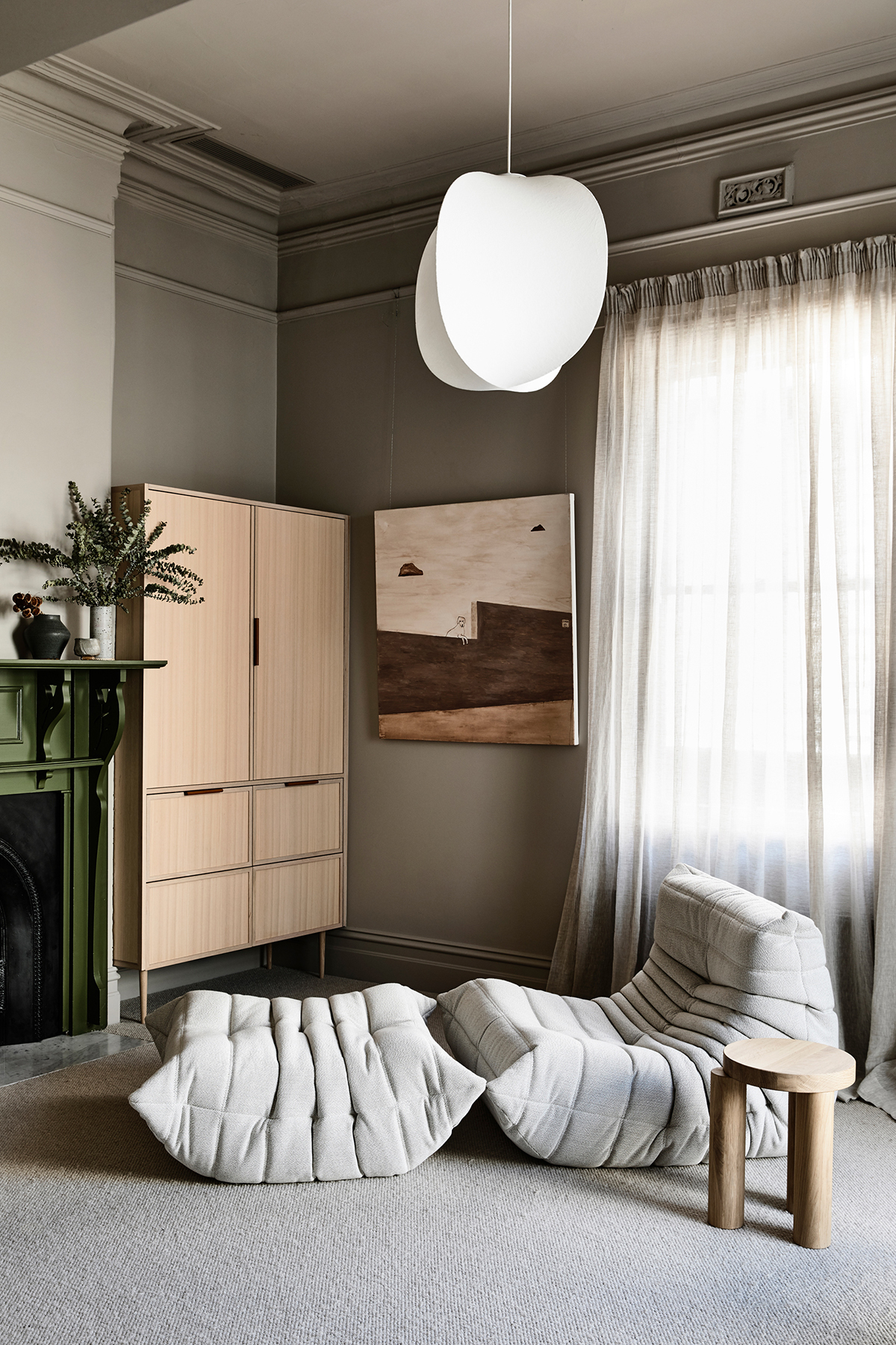 Dulux Colour Awards 2019 Residential Interior winner - Caroline House designed by architects Kennedy Nolan