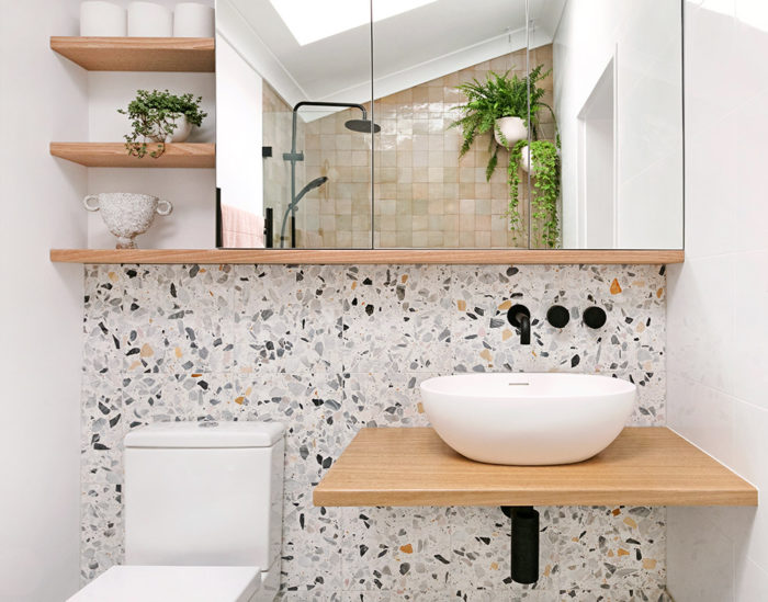 My bathroom renovation - Moroccan Zellige and Terrazzo - We Are Scout