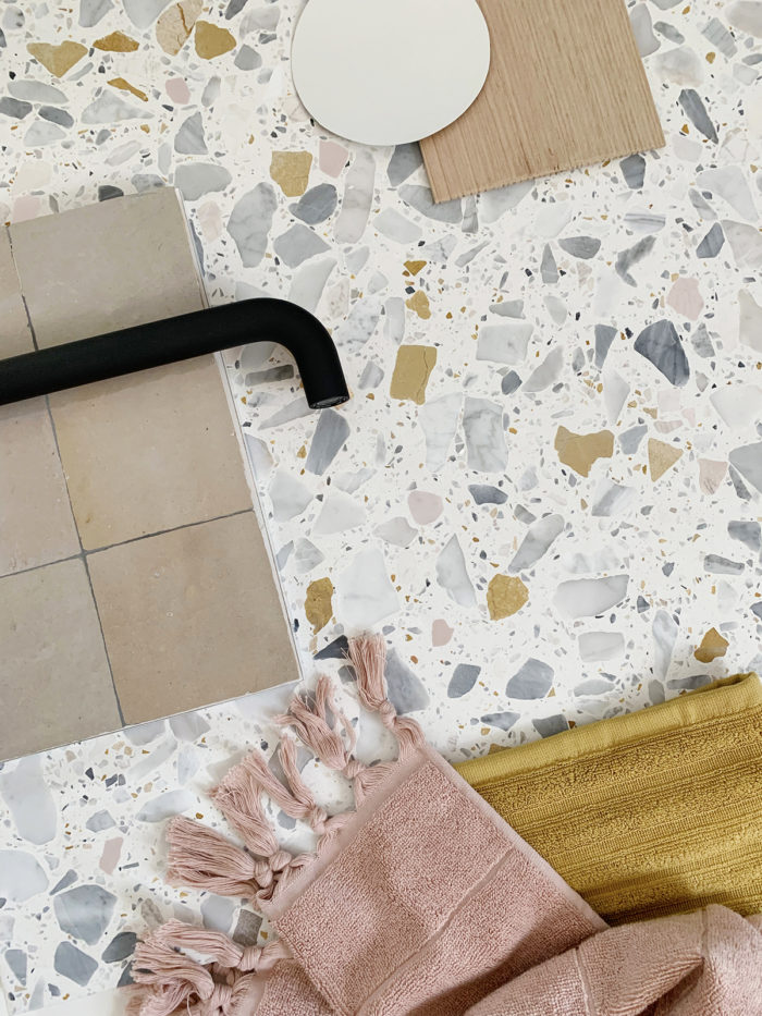 My bathroom renovation - terrazzo and Moroccan zellige tile heaven - We Are Scout
