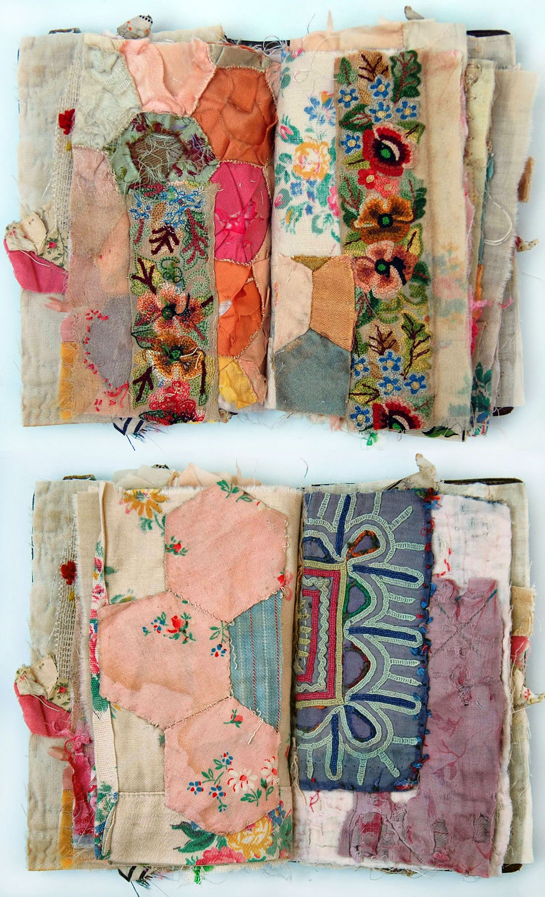 Fabric Collage And Embroidery By Textile Artist Mandy