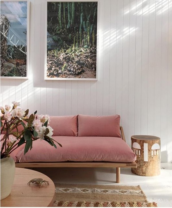Wonderful TREND SCOUT: the soft pink sofa + 10 of the best - We Are Scout NW96